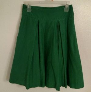 Banana Republic Part Silk Full Skirt